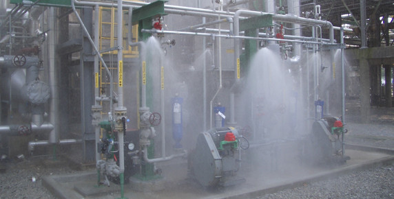 Comptronic Solution Water Spray System